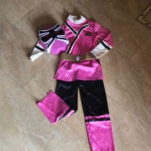 Pink PowerRanger Costume